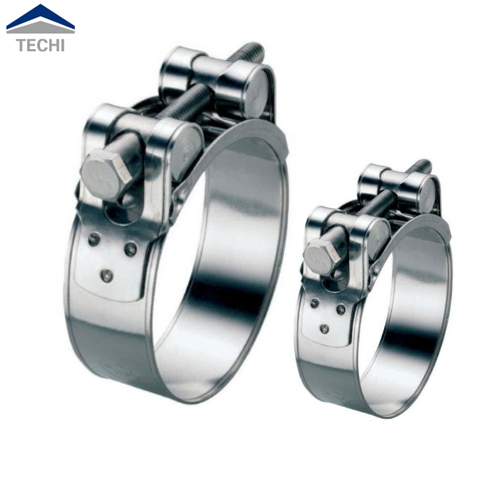 Jubilee Clip Style 20 x Stainless Steel W2 Worm Drive